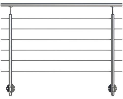 Hliníkový zábradlový set Pertura pro boční montáž (137)