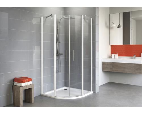 Sprchový kout Schulte Alexa Style 2.0 R550 80x80 cm čiré sklo alpská bílá