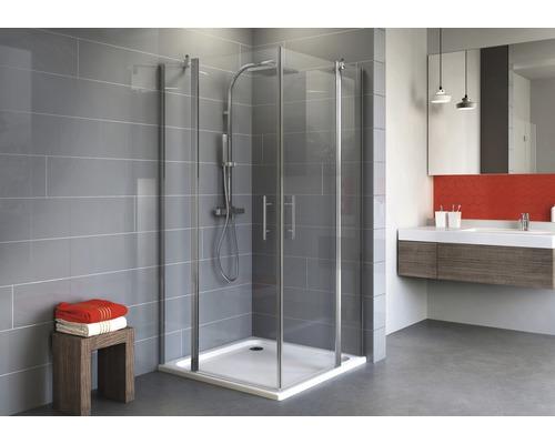 Sprchový kout Schulte Alexa Style 2.0 80x80 cm průhledné sklo chrom