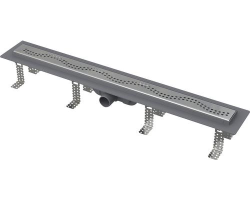 Set sprchového žlabu s roštěm Komfort plastový CPZ8-750M