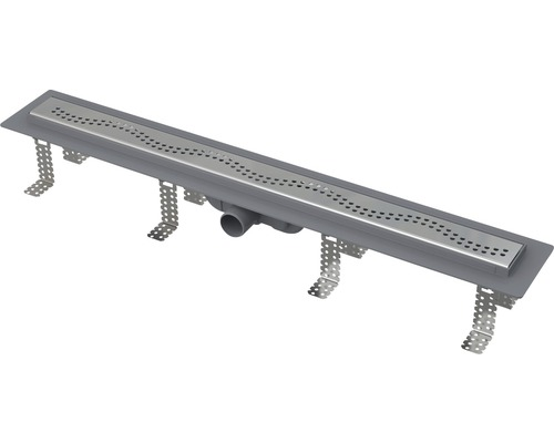 Set sprchového žlabu s roštěm Komfort plastový CPZ8-850M