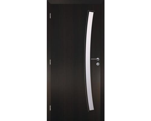 Interiérové dveře Solodoor Zenit 21 prosklené 90 L fólie wenge (VÝROBA NA OBJEDNÁVKU)
