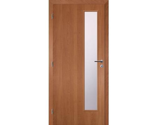 Interiérové dveře Solodoor Zenit 22 prosklené 60 L fólie olše (VÝROBA NA OBJEDNÁVKU)