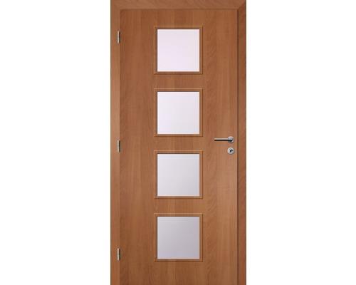 Interiérové dveře Solodoor Zenit 23 prosklené 60 L fólie olše (VÝROBA NA OBJEDNÁVKU)