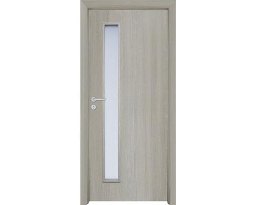 Interiérové dveře Sierra prosklené 60 L cedr (VÝROBA NA OBJEDNÁVKU)