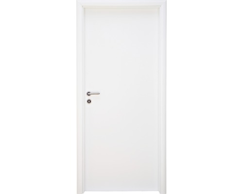 Dveře Single 1 plné, 80 L, bílé