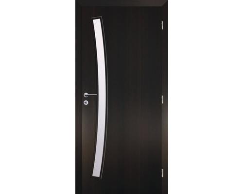 Interiérové dveře Solodoor Zenit 21 prosklené 90 P fólie wenge (VÝROBA NA OBJEDNÁVKU)