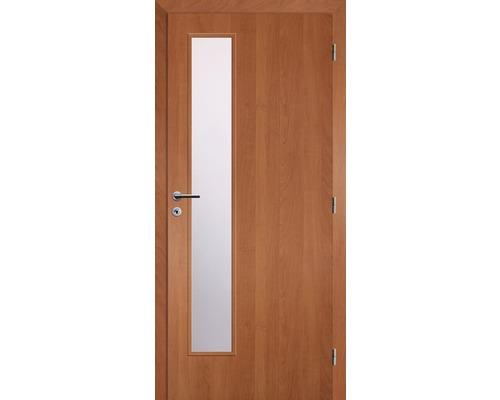 Interiérové dveře Solodoor Zenit 22 prosklené 90 P fólie olše (VÝROBA NA OBJEDNÁVKU)