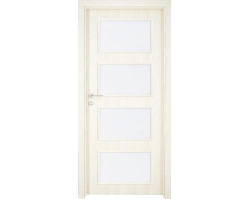 Interiérové dveře Colorado 5 prosklené 60 L jasan (VÝROBA NA OBJEDNÁVKU)