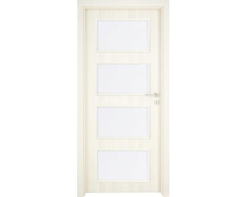 Interiérové dveře Colorado 5 prosklené 60 P jasan (VÝROBA NA OBJEDNÁVKU)
