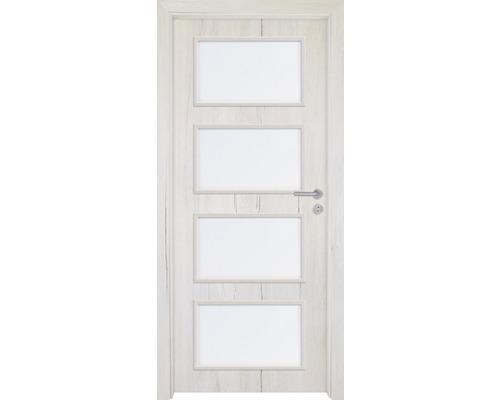 Interiérové dveře Colorado 5 prosklené 70 P dub sněžný (VÝROBA NA OBJEDNÁVKU)
