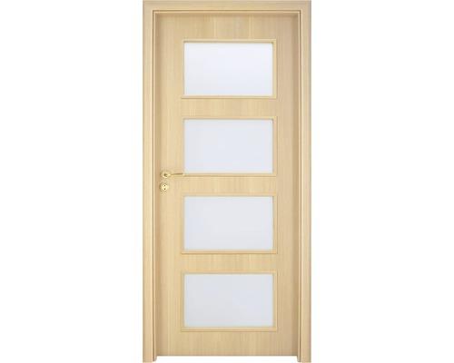 Interiérové dveře Colorado 5 prosklené 80 L dub