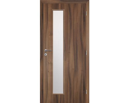 Interiérové dveře Solodoor Zenit 22 prosklené 90 P fólie ořech (VÝROBA NA OBJEDNÁVKU)