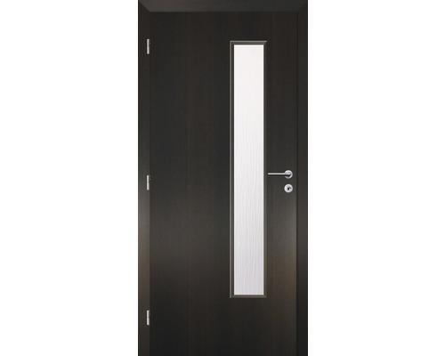 Interiérové dveře Solodoor Zenit 22 prosklené 70 L fólie wenge (VÝROBA NA OBJEDNÁVKU)