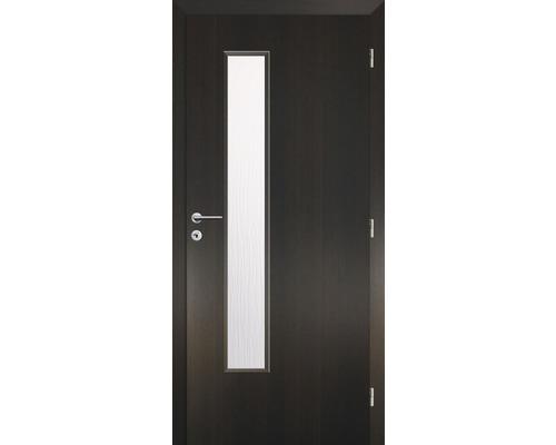 Interiérové dveře Solodoor Zenit 22 prosklené 90 P fólie wenge (VÝROBA NA OBJEDNÁVKU)