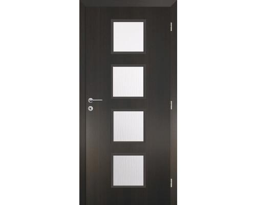 Interiérové dveře Solodoor Zenit 23 prosklené 70 P fólie wenge (VÝROBA NA OBJEDNÁVKU)