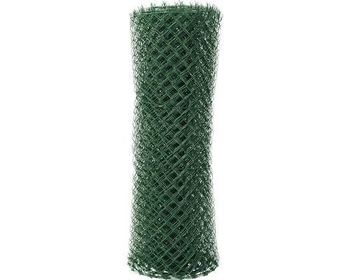 Plotové pletivo PILECKÝ Ideal Zn + PVC 4hranné uzlové 150 cm x 25 m zelené