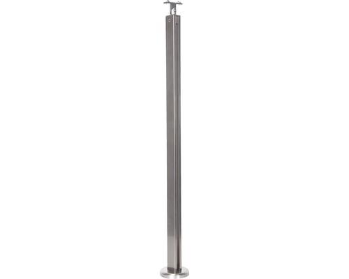 Hliníkový sloupek zábradlí Pertura 940 mm pro montáž do podlahy (77)