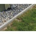 Obrubník betonový zahradní 100 x 20 x 5 cm šedá