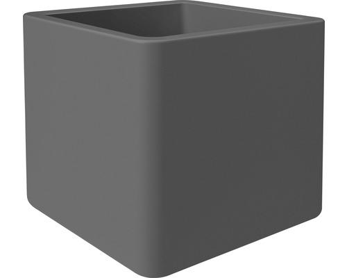 Květináč plastový elho Pure Soft Brick 40 cm antracit