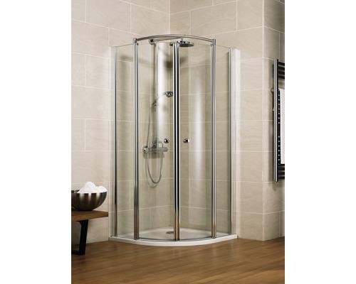 Sprchový kout Schulte Garant Bella Lux II R550 90x90 cm čiré sklo chrom