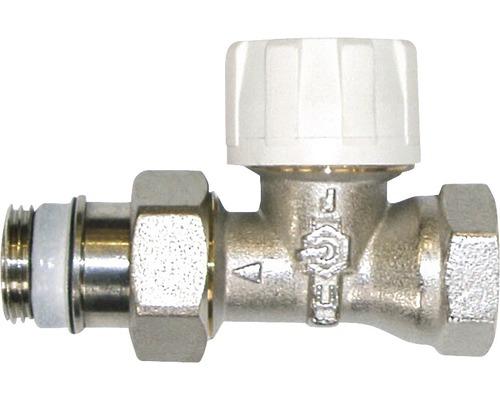"""Termostatický ventil 1/2"""" přímý"""