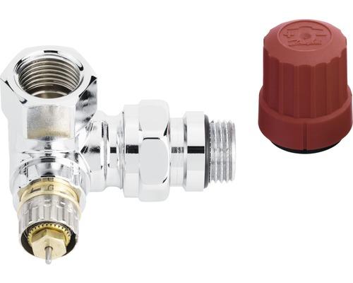 Termostatický ventil úhlový pravý