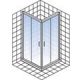 Sprchový kout Schulte Kristall/Trend 80x80 cm chrom