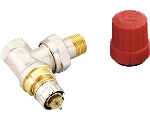 """Termostatický ventil 3/8"""" RA-N10 rohový"""