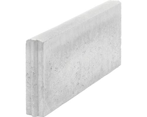 Obrubník betonový zahradní 100 x 25 x 5 cm šedá