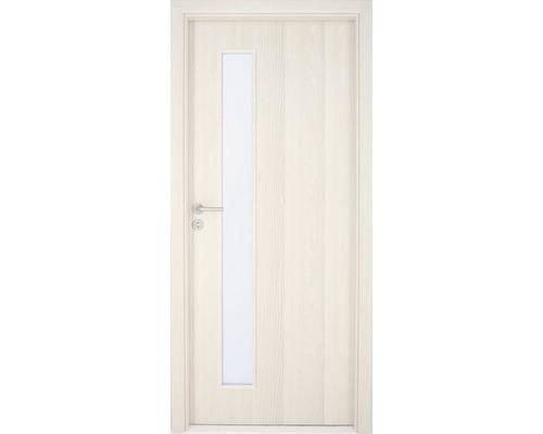 Interiérové dveře Sierra prosklené 90 L jasan (VÝROBA NA OBJEDNÁVKU)
