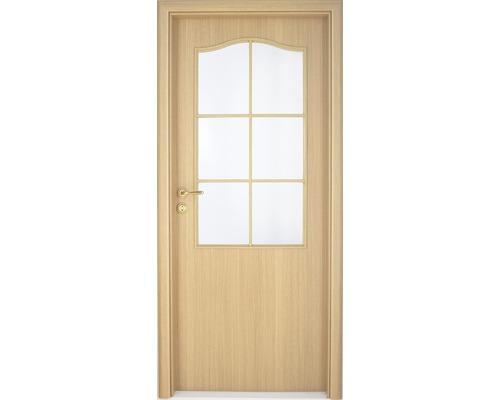 Interiérové dveře Single 2 prosklené 60 P dub (VÝROBA NA OBJEDNÁVKU)