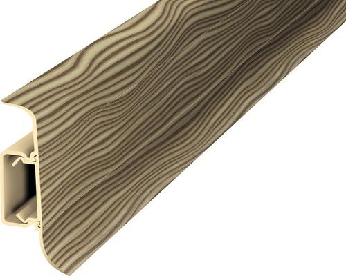 Kanálková lišta KSL50 50x22mm; 2,5m Kanadský smrk; středový kabel.kanál