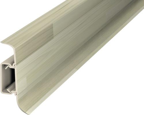 Kanálková lišta KSL50 50x22mm; 2,5m Woodstock bílý; středový kanál
