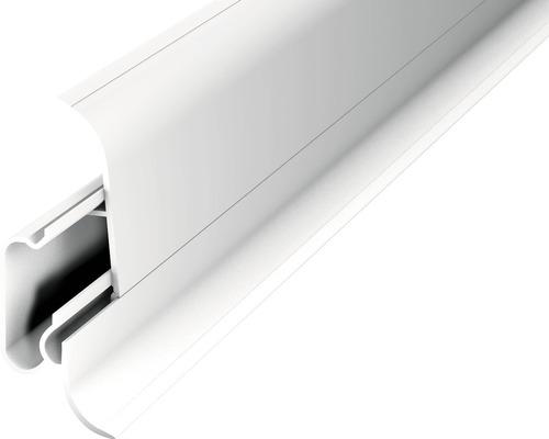 Kanálková lišta P60D 2dílná 60x22mm 2,5m; bílá