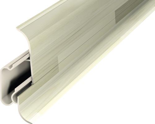 Kanálková lišta P60D 2dílná 60x22mm 2,5m; Woodstock bílý
