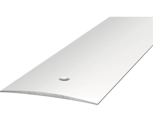 ALU přechodový profil stříbrný 2,7m 40mm šroubovací (předvrtaný)
