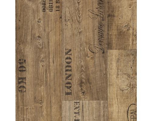 PVC podlaha SALOON 4M 2,80/0,20mm hnědá prkna