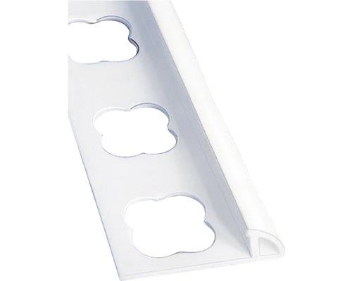 Lišta PVC vnější roh 7x2500 mm bílá PFC