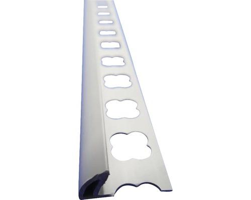 Lišta PVC vnější roh 10x2500 mm šedá