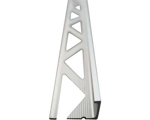 Lišta AL L profil 12x2500 mm elox stříbro