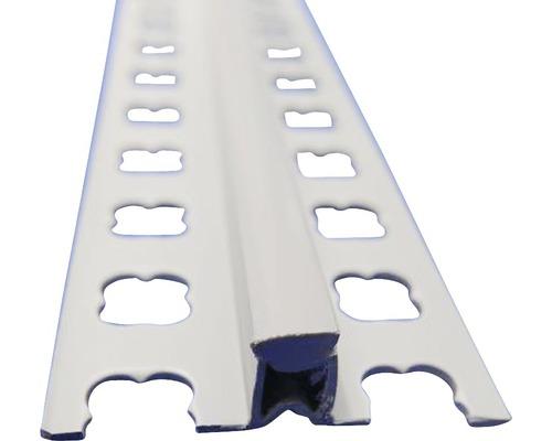 Lišta PVC dilatační 10x2500 mm šedá