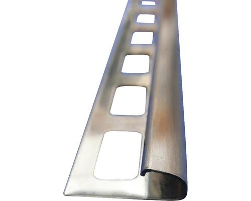 Lišta NEREZ vnější roh 10x2500mm kartáč