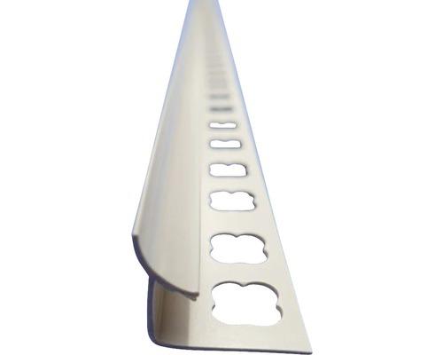 Lišta PVC vnitřní roh 9x2500 mm jasmín