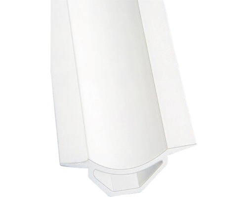 Lišta PVC vanová nad obklad 20x1850 mm bílá