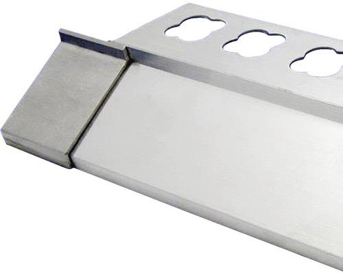 Lišta ALU balkonová spojka 20x50 mm šedá