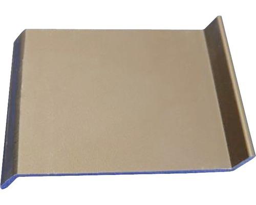 Lišta ALU balkonová spojka 20x50 mm oliva