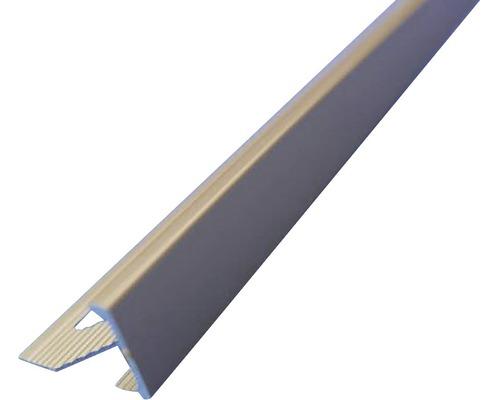 Lišta ALU L profil 10x2500 mm elox šedá
