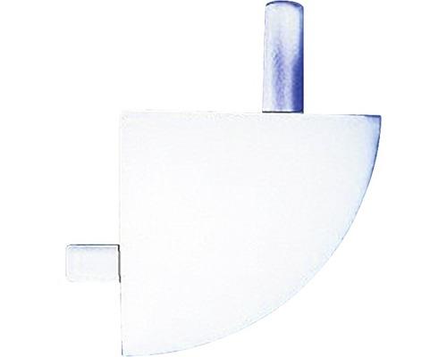 Rohy PVC vnější RVE 8 bílé, set 2 ks