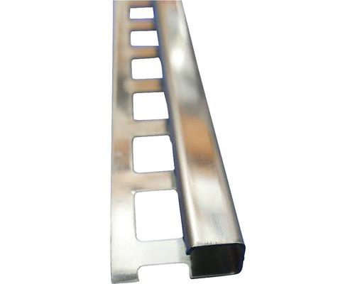 Lišta NEREZ obloukový profil 10x2500 mm šedá